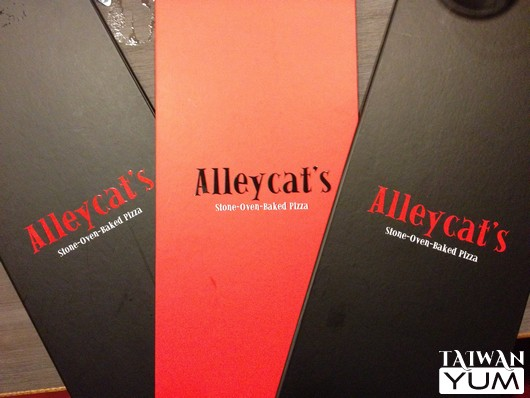 Alleycat's lovely menus
