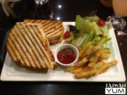 Meat Lover's Panini